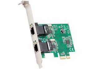 SYBA Multimedia 2-Port Ethernet PCIe x1 Card