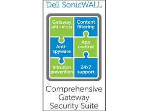 SonicWALL Comprehensive Gateway Security Suite Bundle for the TZ 205 (3 Yr)