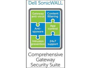 SonicWALL COMPREHENSIVE GATEWAY SECURITY SUITE-W/O VIEWPOINT FOR NSA 3500 (2 YR)