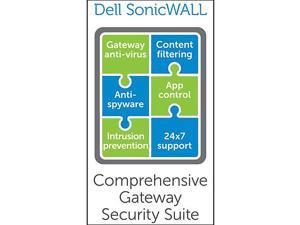 SonicWALL DELL SONICWALL COMPREHENSIVE GATEWAY SECURITY SUITE-W/O VIEWPOINT FOR NSA 4500 (2 YR)