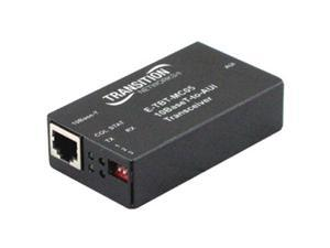 TRANSITION E-TBT-MC05 Ethernet AUI to RJ-45 Transceiver