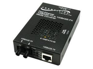 TRANSITION E-100BTX-FX-05(SC)NA Fast Ethernet 100BASE-TX to 100BASE-FX Media Converters