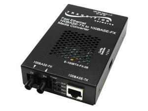TRANSITION E-100BTX-FX-05(LC)NA 100BASE-TX to 100BASE-FX MMF LC Media Converters