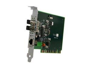 TRANSITION E100BTXFXNLP-01(SC) 100BASE-TX to 100BASE-FX PCI Media Converter