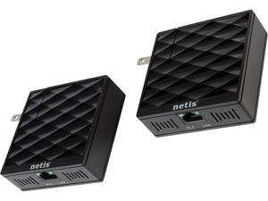 Netis PL7200KIT AV200 200 Mbps Powerline Adapter Kit (One Pair)
