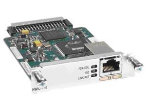 Cisco 2800/3800 Series 1-Port Fast Ethernet Card, HWIC-1FE