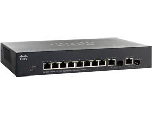 Cisco SG300-10MPP 10-Port Gigabit Max PoE+ Managed Switch