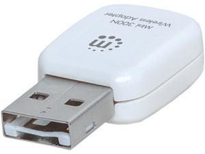 MANHATTAN 525527 USB 2.0 Mini 300N Wireless Adapter