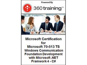 Microsoft Certification for Microsoft 70-513 TS: Windows Communication Foundation Development with Microsoft .NET Framework 4 – C# - Self Paced Online Course