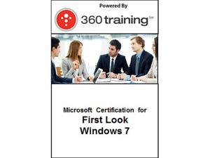 Microsoft Certification for First Look: Windows 7 - Self Paced Online Course