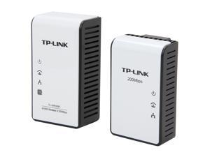 TP-LINK TL-WPA281KIT AV200 Wireless N Powerline Extender Starter Kit