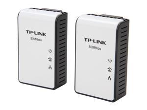 TP-LINK TL-PA411KIT AV500 Mini Powerline Adapter Starter Kit