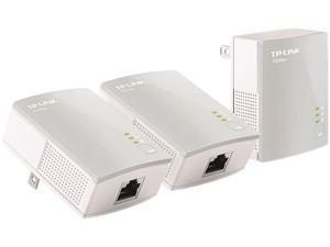 TP-LINK TL-PA4010 TKIT AV500 Powerline Adapter 3-Pack