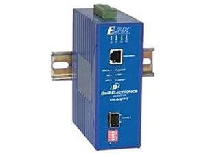 B&B 10/100/1000Base-TX to Gigabit SFP Hardened Media Converter