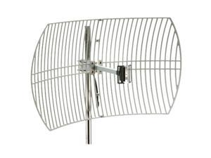 Premiertek ANT-GRID-24DBI Outdoor 2.4GHz 24dBi Directional High-Gain N-Type Female Aluminum Die Cast Grid Parabolic Antenna
