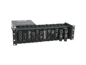 Transition Networks E-MCR-05-NA 12-slot Media Converter Rack
