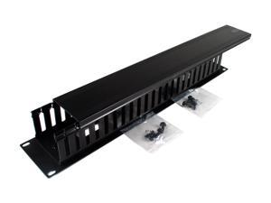 BELKIN F4D339 Cable Management Panel, requires two rack spaces