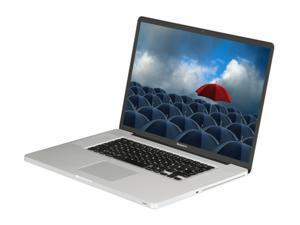 "Apple Laptop MacBook Pro MC226LL/A Intel Core 2 Duo 2.80 GHz 4 GB Memory 500 GB HDD NVIDIA GeForce 9600M GT and NVIDIA GeForce 9400M 17.0"" Mac OS X v10.5 Leopard"