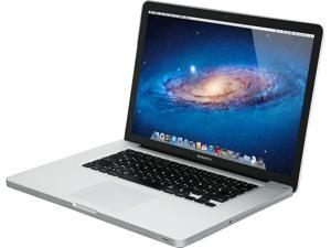 "Apple C Grade Scratch and Dent Laptop MacBook Pro MC371LL/A-C Intel Core i5 2.40 GHz 4 GB Memory 320 GB HDD NVIDIA GeForce GT 330M 15.4"" Mac OS X v10.6 Snow Leopard"