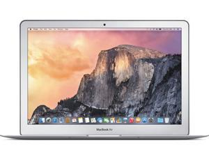 "Apple Laptop MacBook Air MMGG2LL/A Intel Core i5 5th Gen 1.60 GHz 256 GB PCIe-Based Flash Storage SSD Intel HD Graphics 6000 13.3"" Mac OS X El Capitan"