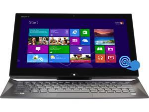 "SONY VAIO Duo Core i7 8GB 256GB SSD 13.3"" FHD Touchscreen 2-in-1 Ultrabook Windows 8 Pro (SVD13225PXB)"