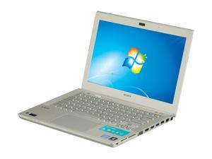 "SONY VAIO SVS13115FXS Intel Core i5-3210M 2.5GHz 13.3"" Windows 7 Home Premium 64-Bit Notebook"
