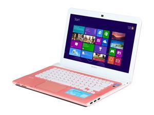 "SONY VAIO E Series SVE14122CXP Intel Core i3-3110M 2.4GHz 14.0"" Windows 8 64-bit Notebook"