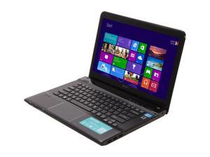 "SONY VAIO SVE1412BCXB Intel Core i5-3210M 2.5GHz 14.0"" Windows 8 64-bit Notebook"