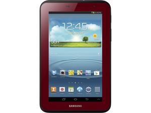 SAMSUNG Galaxy Tab 2 GT-P3113GRSXAR WiFi 7-inch Tablet Bundle with Case - Garnet Red