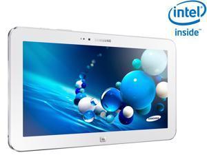 "SAMSUNG ATIV Tab 3 Intel Atom Z2760 2GB Memory 64GB SSD 10.1"" Touchscreen Tablet with keyboard- White (XE300TZC-K01US)"