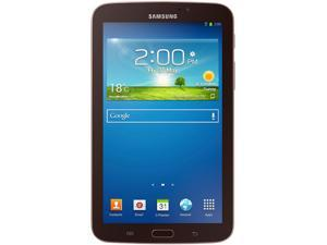 "Samsung Galaxy Tab 3 7"" Dual Core 1.20GHz 1GB Memory 8GB Storage- Gold-Brown"
