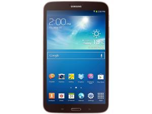 "Samsung Galaxy Tab 3 8.0 - 16GB Flash Storage 1.5GB RAM 8"" Android Tablet - Gold Brown Color"