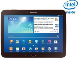 "Samsung Galaxy Tab 3 10.1"" Intel Atom Z2560 Dual Core 1.60GHz 1GB Memory 16GB Storage- Gold-Brown"