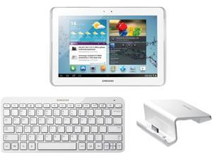 "Samsung Galaxy Tab 2 10.1"" 1GB Memory 16GB Table PC Android 4.2 (Jelly Bean) with Keyboard, white"
