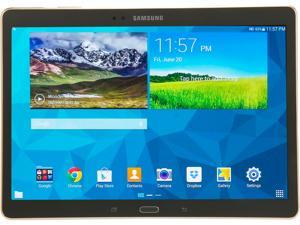 "SAMSUNG Galaxy Tab S SM-T800NTSAXAR 10.5 - Exynos 5 Octa Core 3GB Memory 16GB 10.5"" Touchscreen Tablet Android 4.4 - Titanium Bronze"