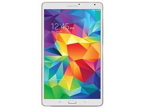 "SAMSUNG Galaxy Tab S 8.4 - Exynos 5 Octa Core 3GB Memory 16GB 8.4"" Touchscreen Tablet Android 4.4, Dazzling White (SM-T700NZWAXAR)"