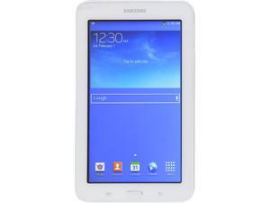 "SAMSUNG 7.0"" SM-T110NDWAXAR Marvell PXA986 1.20 GHz 1 GB Memory 8 GB Flash Storage Android 4.2 (Jelly Bean) Grade A Tablet"