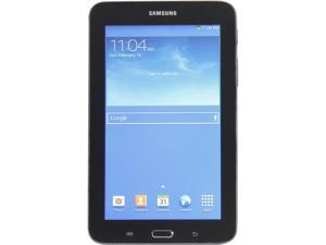 Samsung Galaxy Tab 3 Lite SM-T110NYKAXAR Tablet PC - 1.2 GHz Dual-Core Processor - 1 GB RAM - 8 GB Storage - 7-inch Touchscreen Display - Android 4.1.2 Jelly Bean - Dark Gray