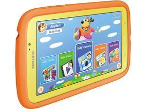 "SAMSUNG Galaxy Tab 3 Kids SM-T2105GYYXAR Dual Core Processor 1 GB Memory 8 GB 7.0"" Touchscreen Tablet Android"