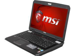 """MSI GT Series GT70 2OD-019US Gaming Laptop Intel Core i7-4700MQ 2.4GHz 17.3"""" Windows 8 64-Bit"""