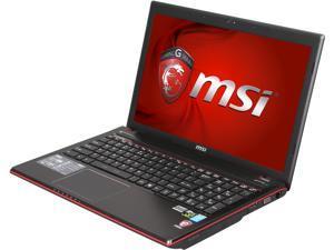 """MSI GE Series GE60 2OE-003US Gaming Laptop Intel Core i7-4700MQ 15.6"""" Windows 8 64-Bit"""