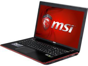 "MSI GE Series GE70 Apache Pro-061 Gaming Laptop Intel Core i5-4200H 2.8GHz 17.3"" Windows 8.1 64-Bit"