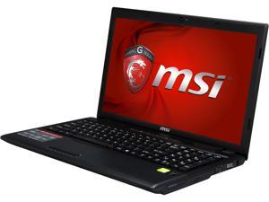 "MSI GP Series GP60 Leopard-010 Gaming Laptop Intel Core i5-4200M 2.5GHz 15.6"" Windows 8.1 Multi-language"