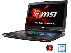 "MSI GT72S Dominator Pro G-037 Gaming Laptop 6th Generation Intel Core i7 6820HK (2.70 GHz) 16 GB Memory 1 TB HDD 128 GB SSD NVIDIA GeForce GTX 970M 3 GB GDDR5 17.3"" IPS Windows 10 Home"