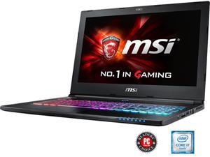 "MSI GS Series GS60 Ghost Pro-002 Gaming Laptop 6th Generation Intel Core i7 6700HQ (2.60 GHz) 16 GB Memory 1 TB HDD 128 GB SSD NVIDIA GeForce GTX 970M 3 GB GDDR5 15.6"" Windows 10 Home"