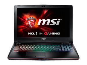 "MSI GE Series GE62 Apache Pro-014 Gaming Laptop 6th Generation Intel Core i7 6700HQ (2.60 GHz) 16 GB Memory 1 TB HDD 128 GB SSD NVIDIA GeForce GTX 960M 2 GB GDDR5 15.6"" Windows 10 Home"