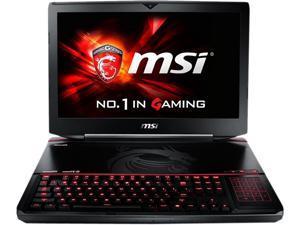 "MSI GT Series GT80S 6QE-013US Gaming Laptop 6th Generation Intel Core i7 6920HQ (2.90 GHz) 24 GB Memory 1 TB HDD 256 GB SSD 18.4"" Windows 10 Home"