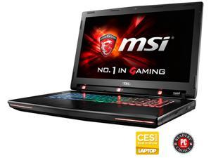 "MSI GT Series GT72S G Tobii-805 Gaming Laptop with Tobii Eye Tracking Technology 6th Gen Intel Core i7 6820HK 32GB Memory 1TB HDD 256GB SSD NVIDIA GeForce GTX 980M 8GB 17.3"" Windows 10 Home 64-bit"