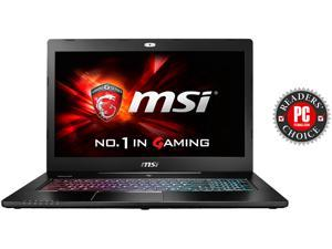 "MSI GS Series GS72 Stealth Pro 4K-202 Gaming Laptop 6th Generation Intel Core i7 6700HQ (2.60 GHz) 16 GB Memory 1 TB HDD 256 GB SSD NVIDIA GeForce GTX 970M 3 GB GDDR5 17.3"" UHD Windows 10 Home 64-Bit"