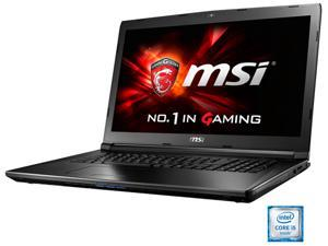"MSI GL72 6QD-001 Gaming Laptop Intel Core i5 6300HQ (2.30 GHz) 8 GB Memory 1 TB HDD NVIDIA GeForce GTX 950M 2 GB GDDR3 17.3"" Windows 10 Home 64-Bit Multi-language"